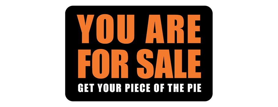 You Are For Sale